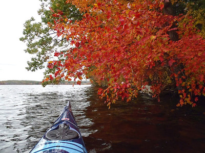 Lake Massabesic, Oct 22, 2011